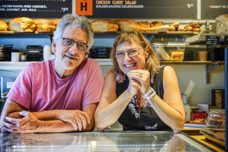 Stone Oven Owners John & Tatyana